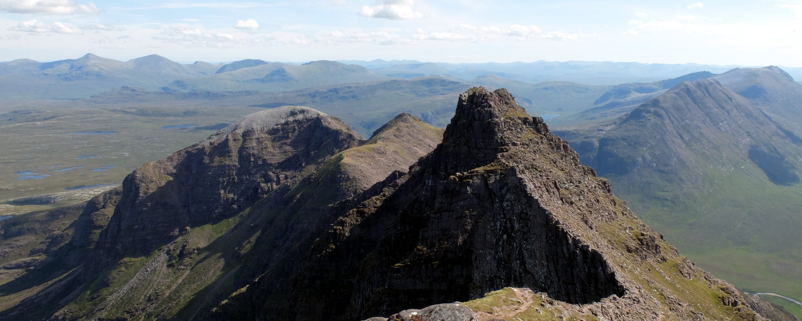 View of An Teallach looking south