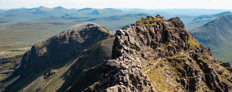 Corrag Bhuidhe Pinnacles - An Teallach