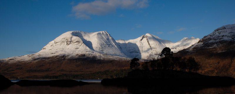 Beinn Alligin from the shores of Loch Torridon