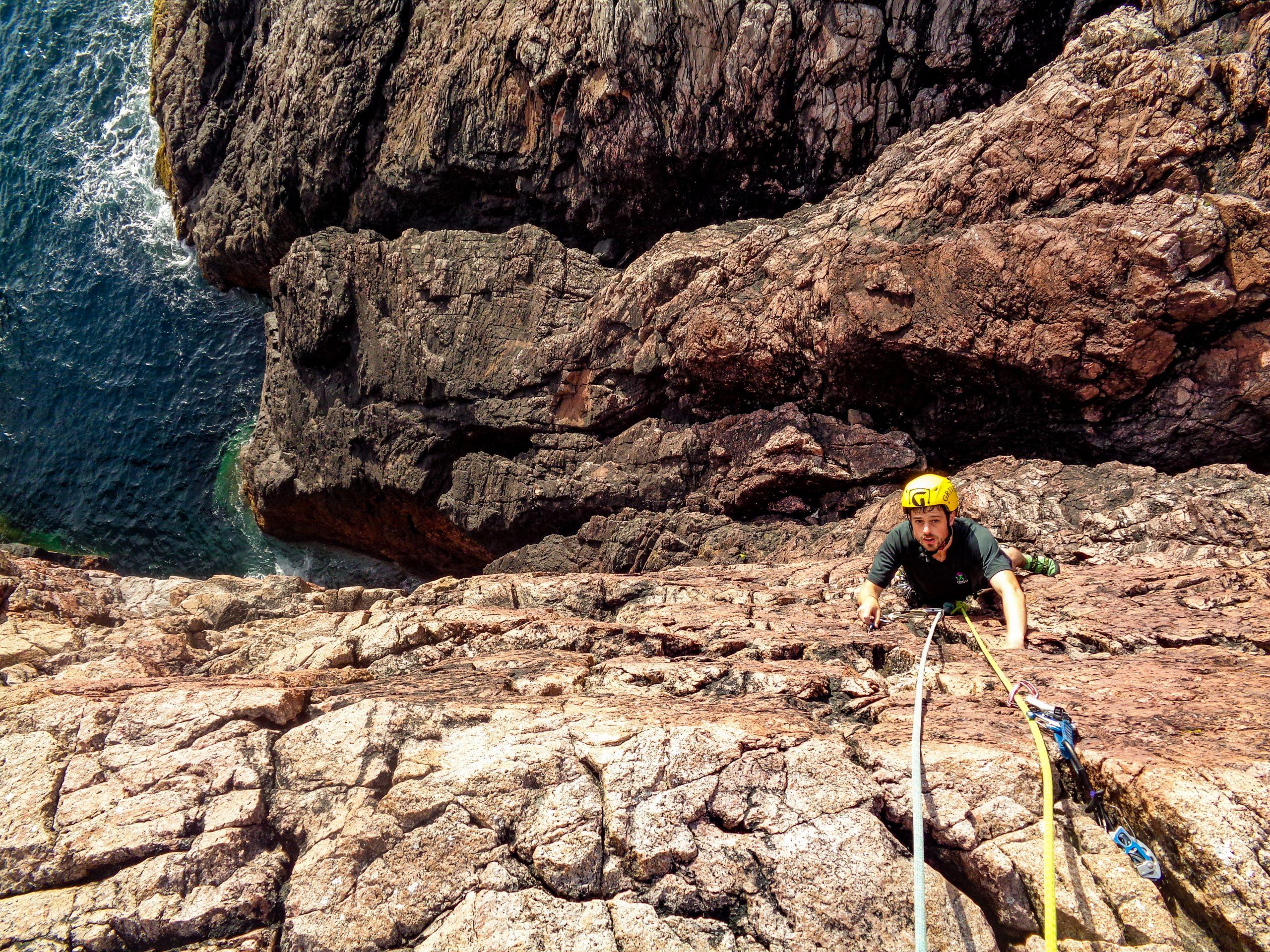 Climbing at Shegra