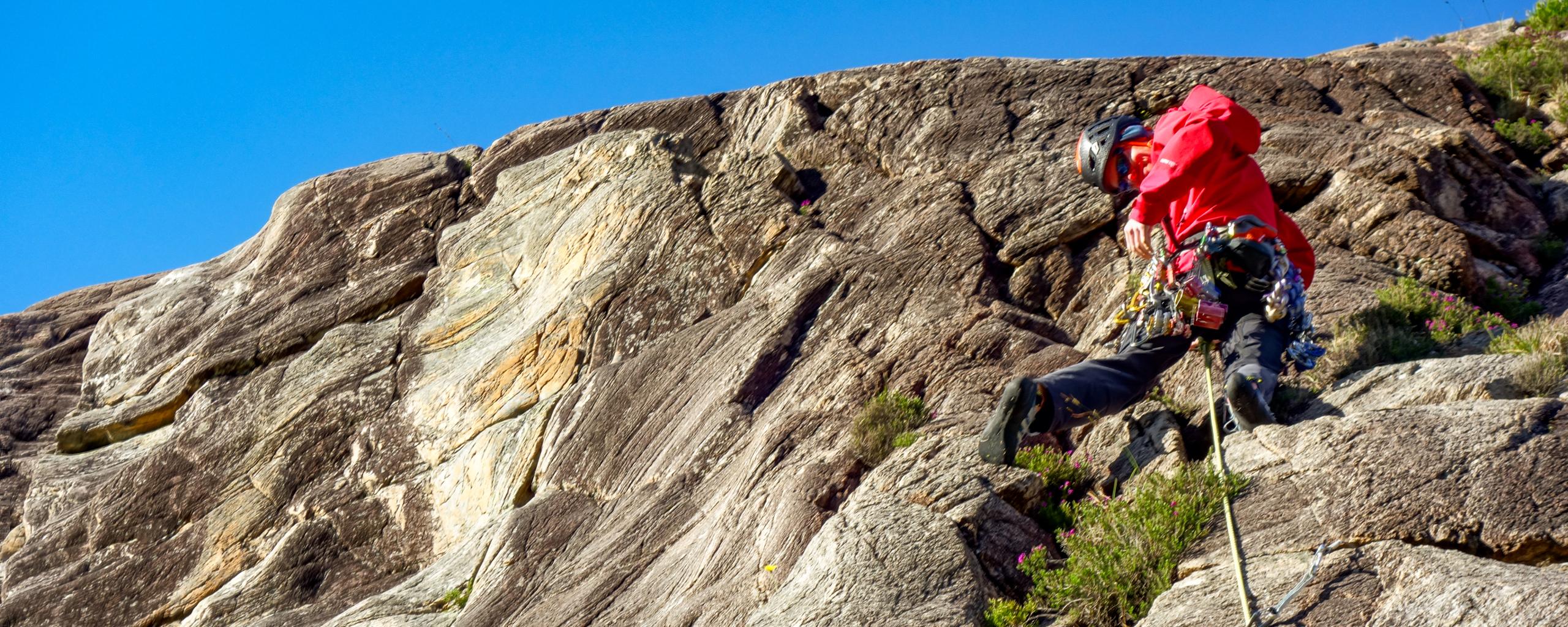 Climbing at Ardheslaig