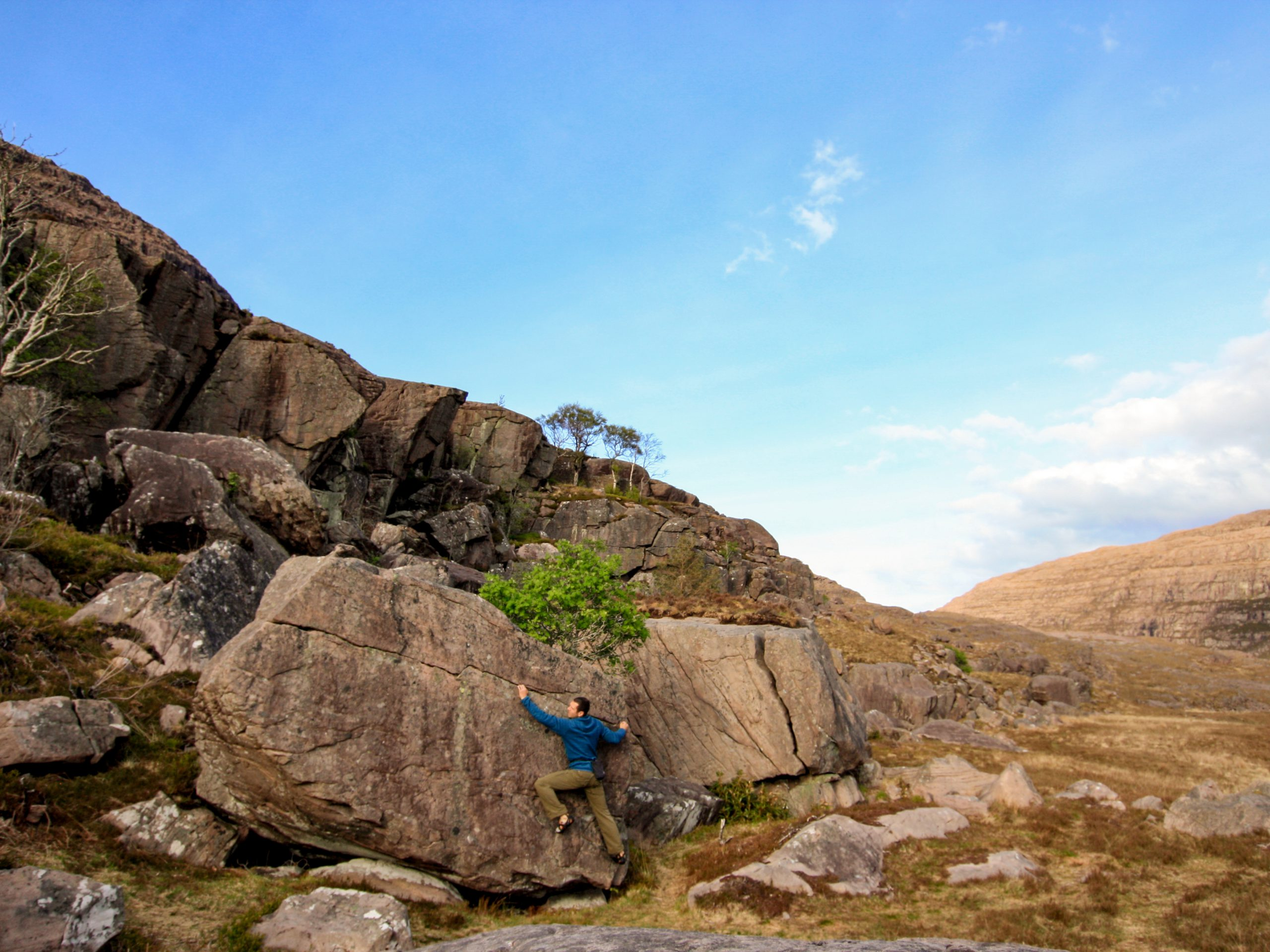 Bouldering at the Celtic Jumble