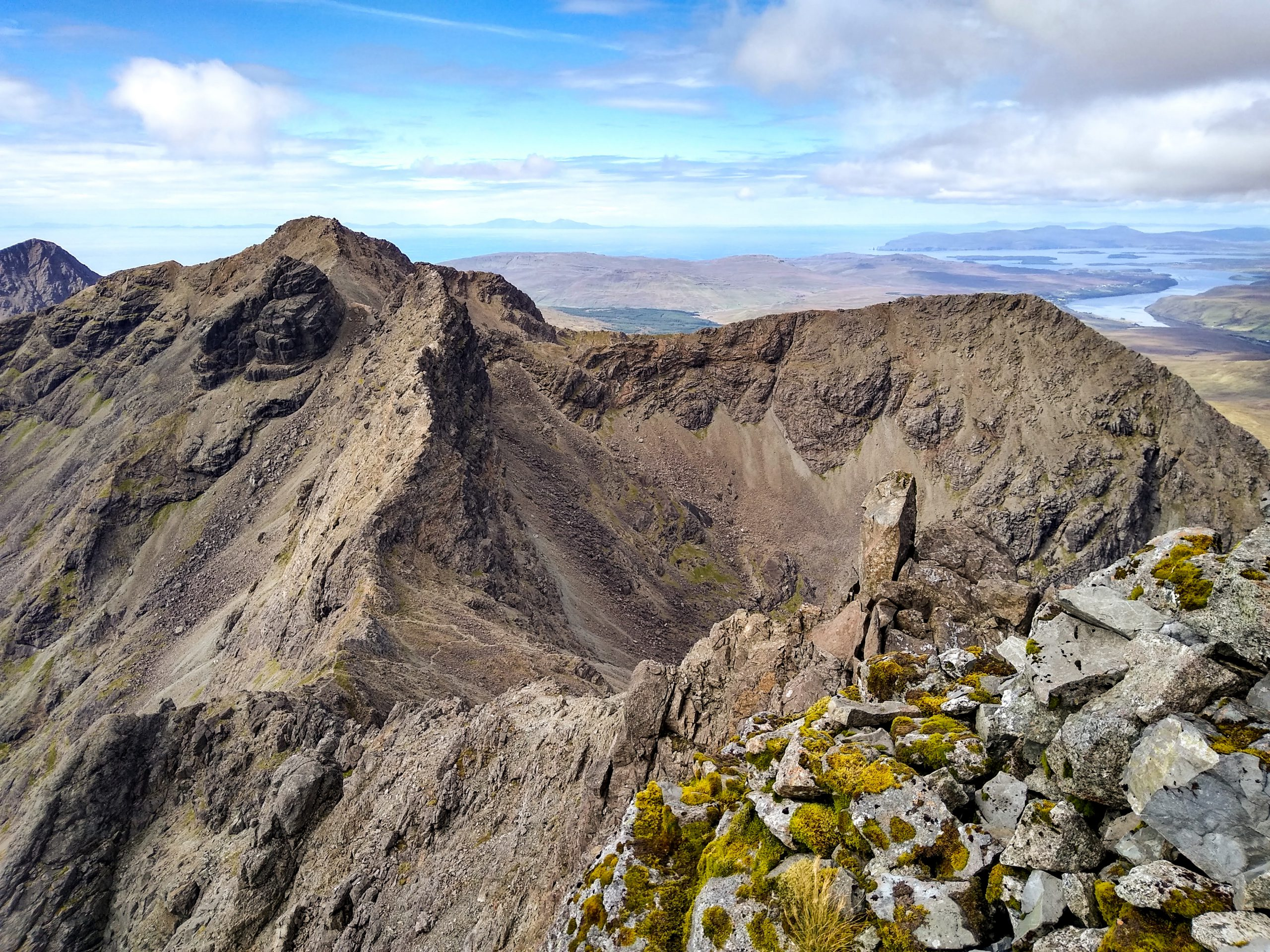 Am Basteir and the northern Cuillin