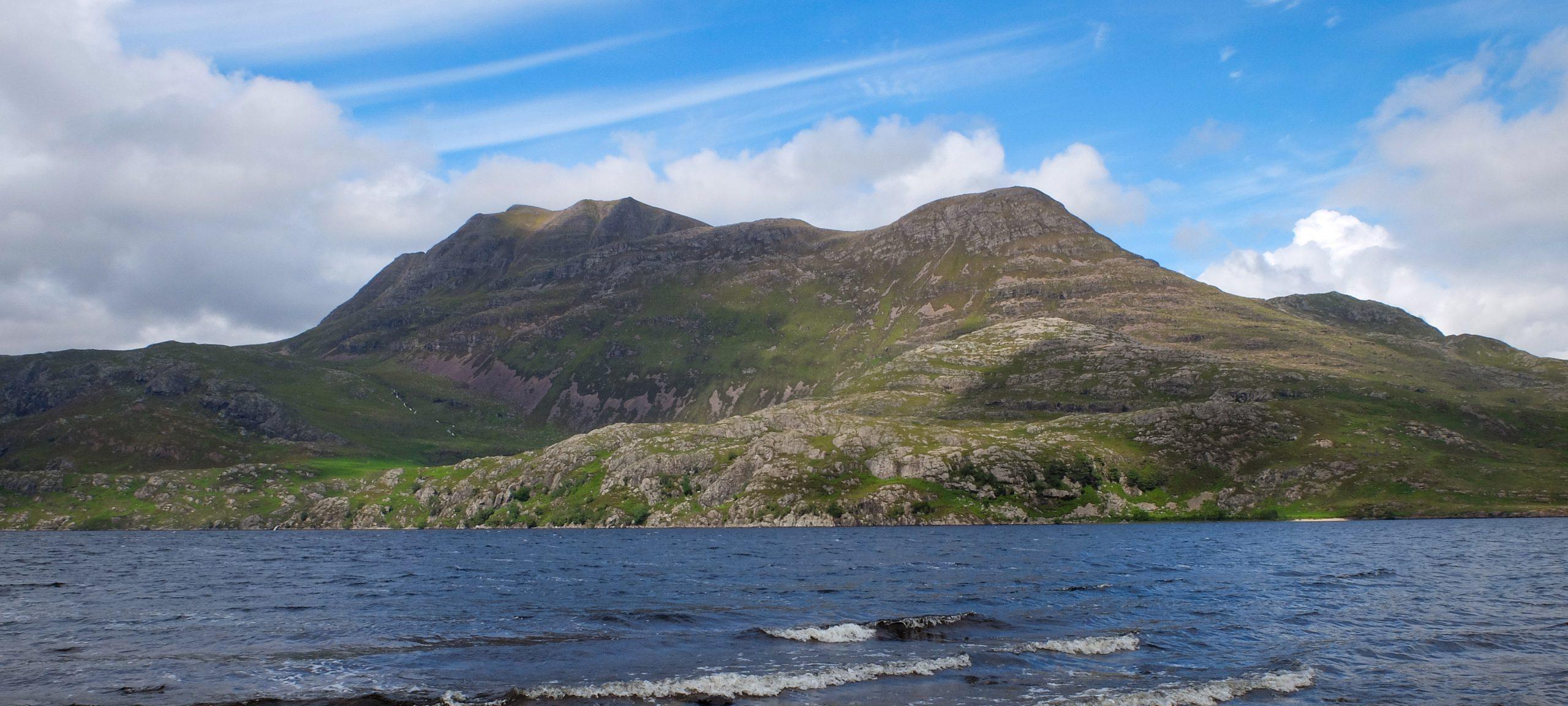 Slioch on the shores of Loch Maree