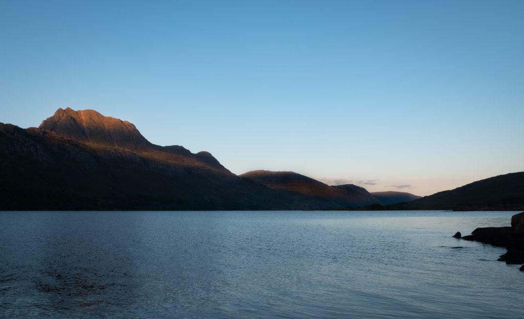Sunset over Loch Maree