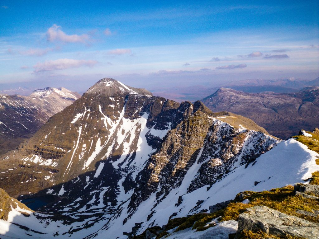 Liathach in late winter snow