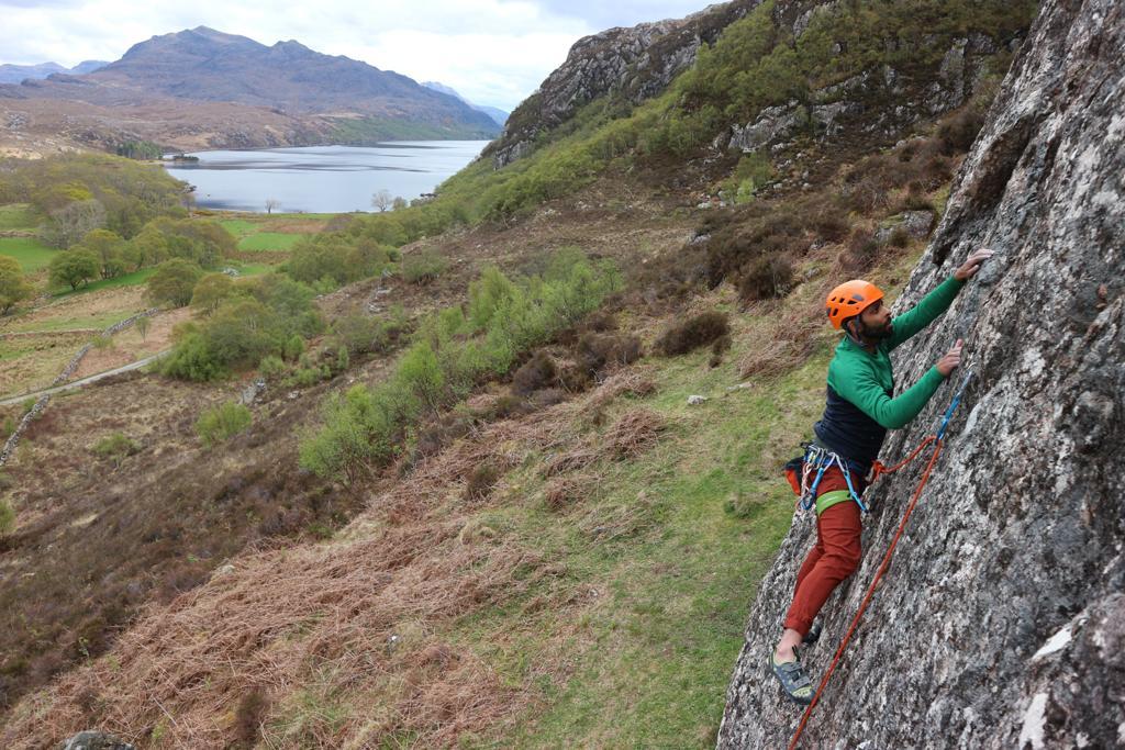 Sport Climbing near Gairloch
