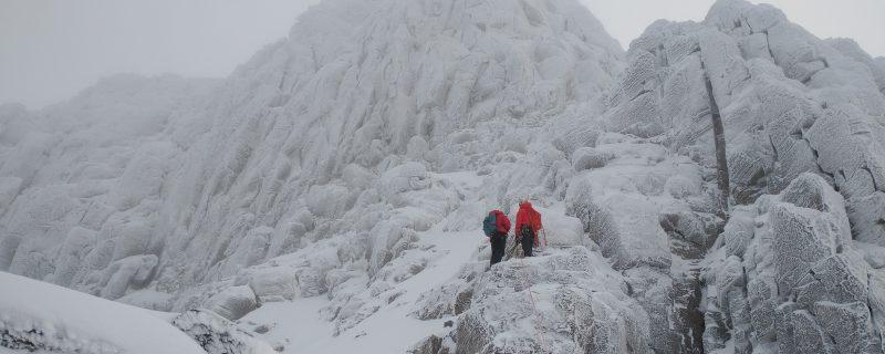 Winter Climbing Beinn Eighe